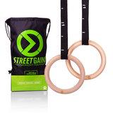 Turn Ringe Aus Holz (28MM | StreetGains®_