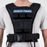 Gewichtsweste Frauen & Männer 10KG | Muscle Power®_