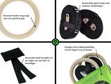 Crossfit Turn Ringe Aus Holz | StreetGains®_