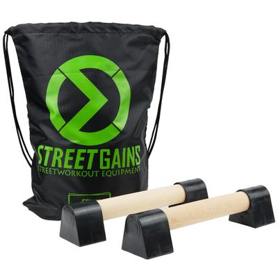 Mini Parallettes aus Holz | StreetGains®