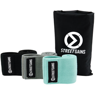 Stoff Booty Bands - Widerstands Bänder   StreetGains®