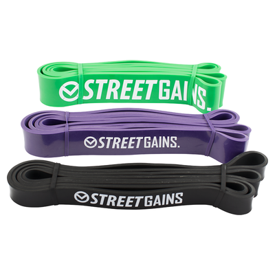 Pull Up Pack - Widerstands Bänder | StreetGains®