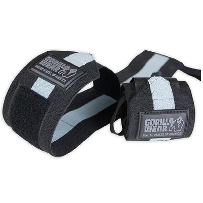 Handgelenkbandage Wrist Wraps ULTRA Schwarz / Grau | Gorilla Wear®